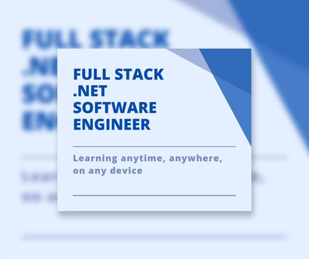 Full Stack .NET Software Engineer