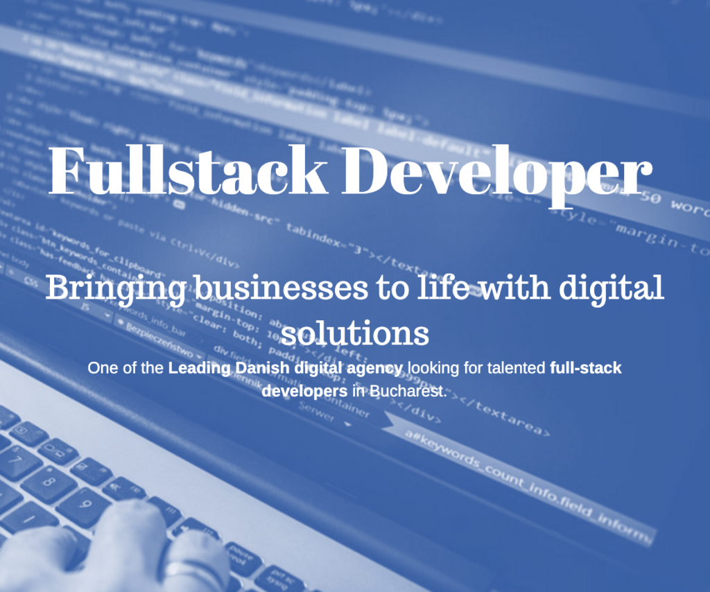 Fullstack Web and Application Developer