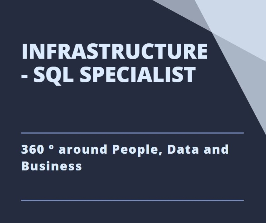 Specialist Business Intelligence (MS SQL Server)