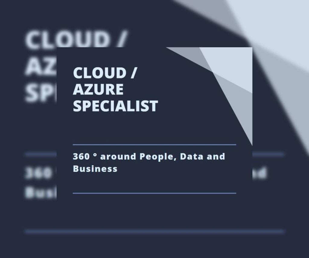 Cloud / Azure Specialist